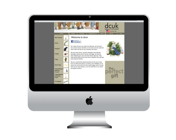 The Duck Company UK Website