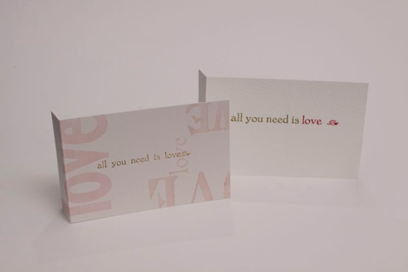 Letterpress Greetings Cards