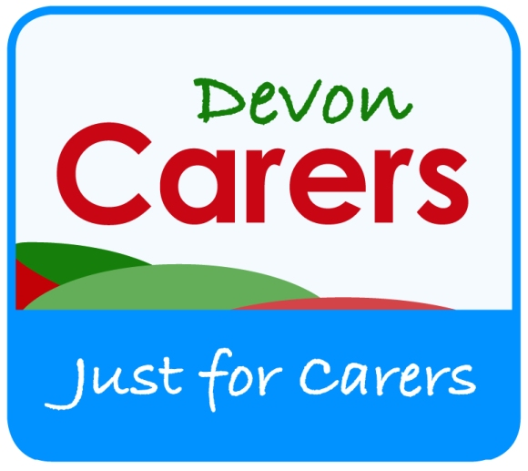 Devon Carers logo with tag line
