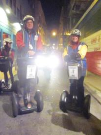Me and Gareth on our Segways