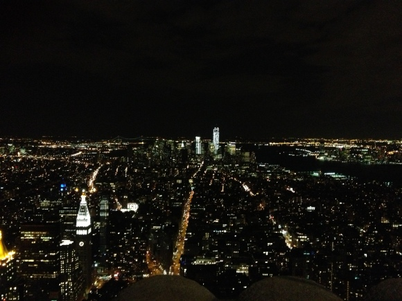 View from the Empire State Building - 86th Floor