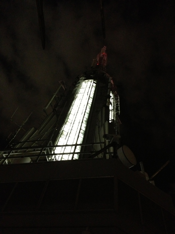 The top of the Empire State Building - sans King Kong