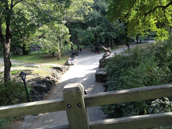 Central Park views...
