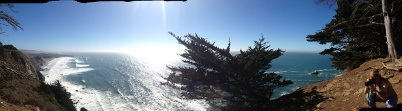 Panoramic of one of the most beautiful vista points I have ever seen!