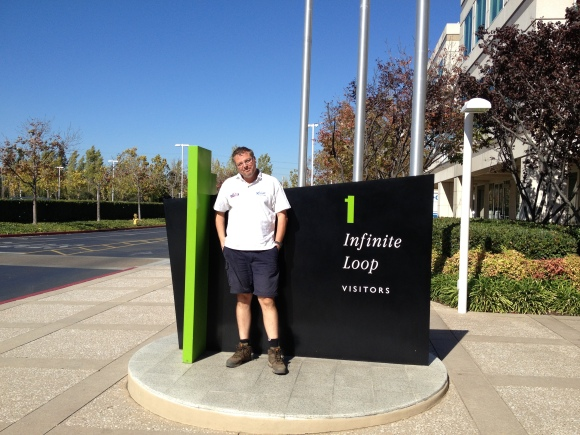 Gareth at 1, Infinite Loop...