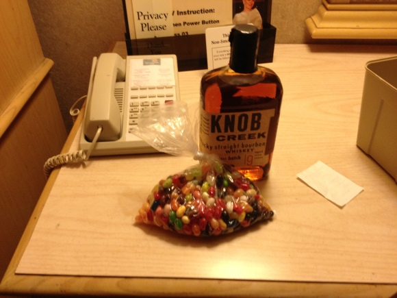 Knob Creek and Jelly Belly