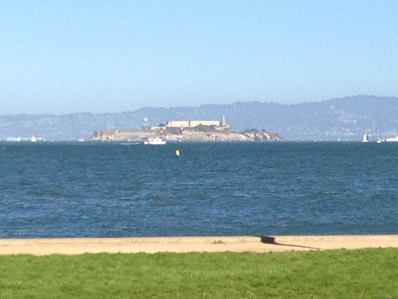 Alcatraz from afar