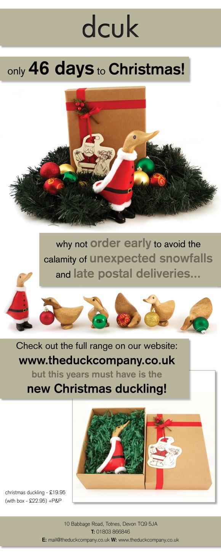 Santa Duckling E-shot