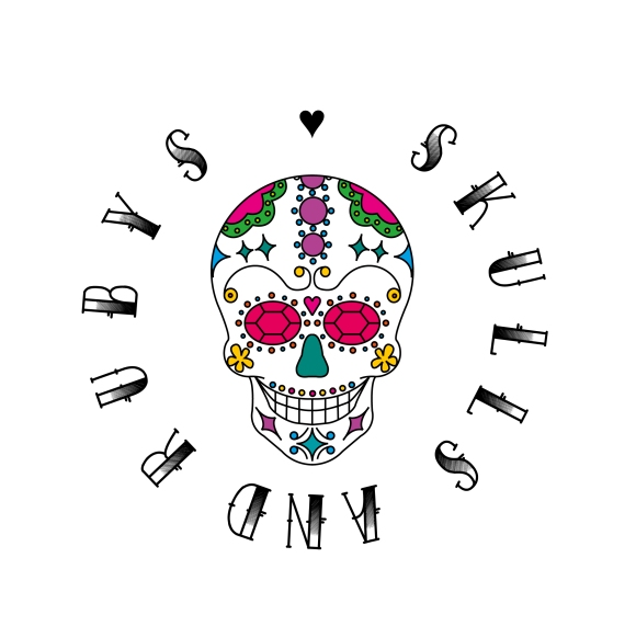 Skulls and Rubys Logo - first draft