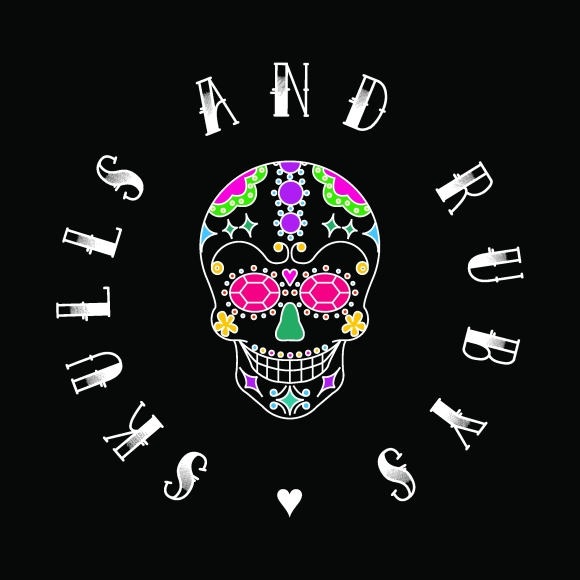 Skulls and Rubys Logo on black