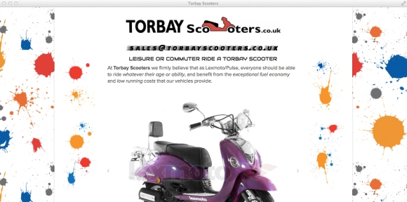 Home Page for Torbay Scooters