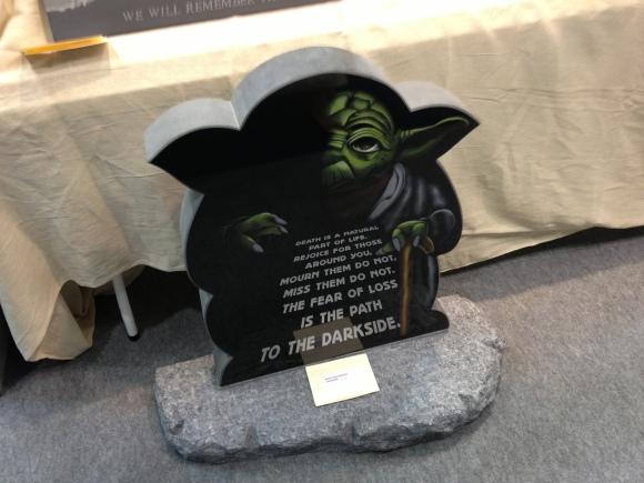 Yoda Headstone