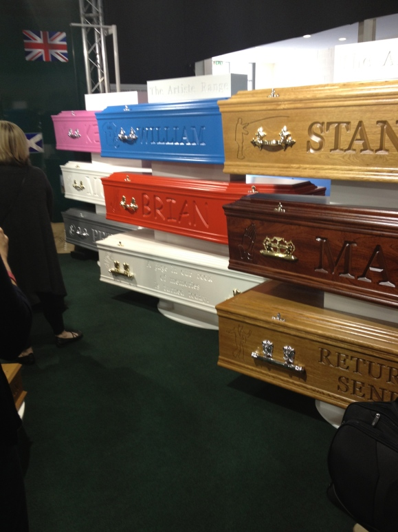 Comic Sans on a coffin...