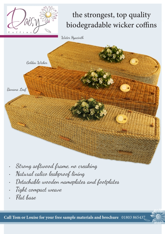 Daisy Coffins Advert