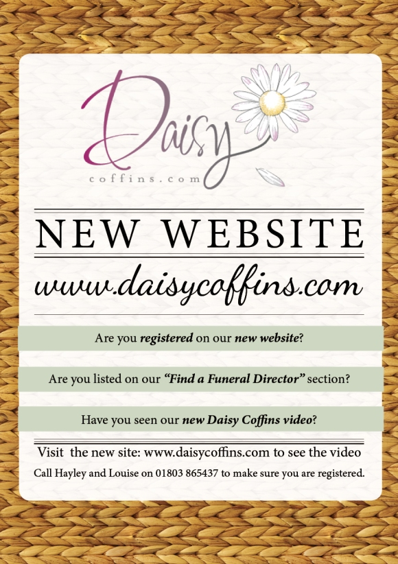 Daisy coffins New Website Announcement