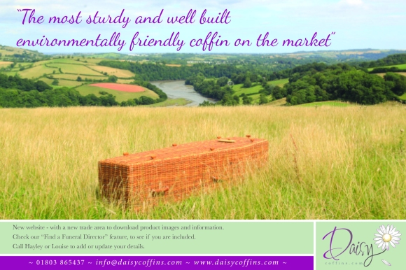 Daisy Coffins Trade Advert
