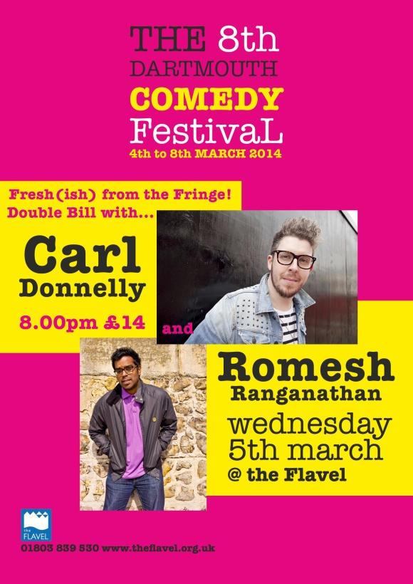 Carl and Romesh