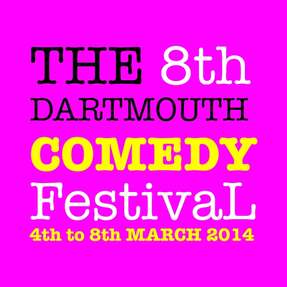 Dartmouth Comedy Festival 2014 logo