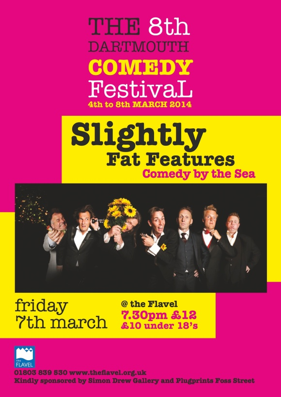 Slightly Fat Features Flavel Poster
