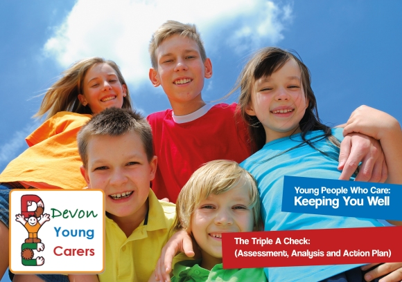 Devon Young Carers Health & Wellbeing Check Front Cover